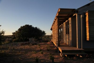 Screening provides a diversity of shadows and light conditions on the cabins